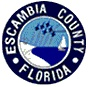 The seal of Escambia County, Florida.